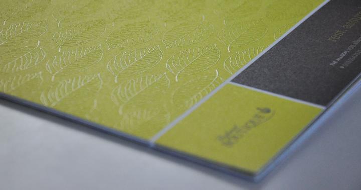 The Allison Brochure Pattern