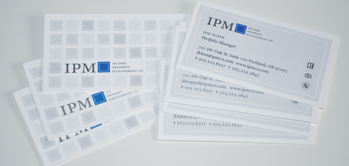 IPM Business Card Pattern