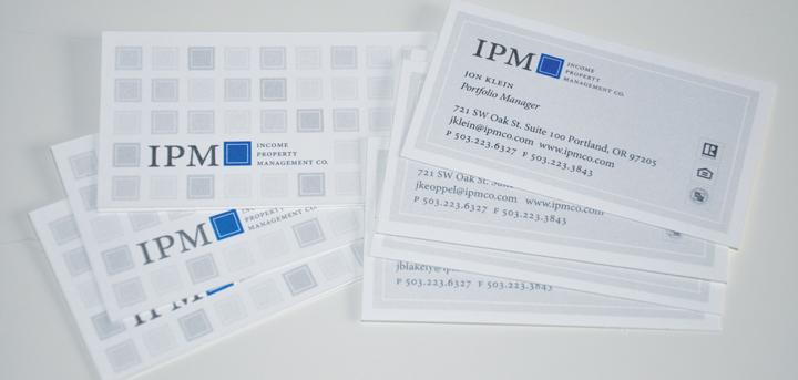 IPM Business Card Pattern